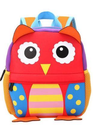 Дитячий рюкзак 🦉