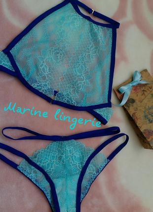 Сексуальный набор / холтер-бра, кружевное белье, сексуальное эротическое белье