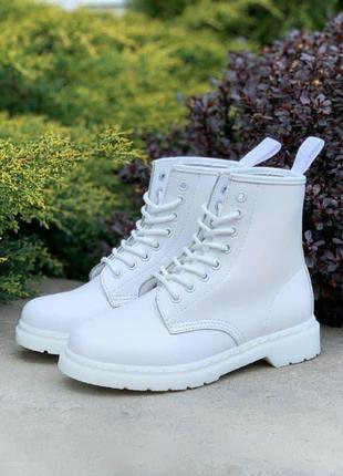 Ботинки 🔥dr. martens 1460 mono white