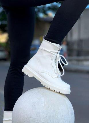 Ботинки 🔥dr. martens sinclair mono white
