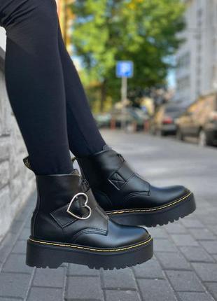 🔥ботинки dr. martens x lazy oaf chunky buckle boot