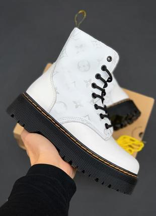 Ботинки 🔥dr. martens x lv jadon white