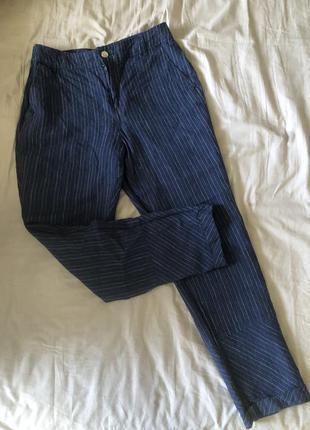 Легкие брюки mango, прямого фасона