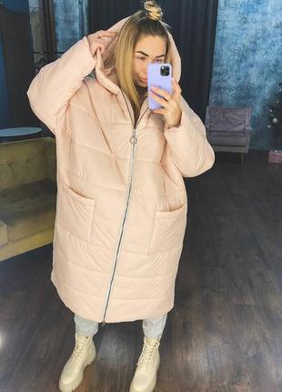 Зимнее пальто  цвета в наличии