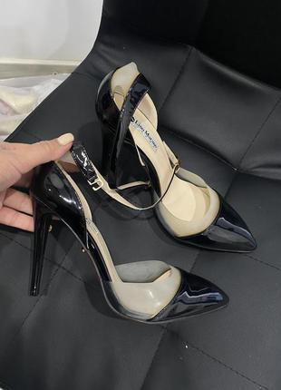 Туфли лодочки с силиконовым вставками