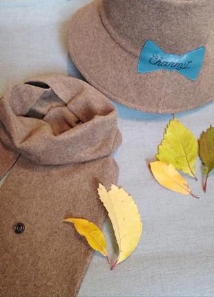 Bukcet hat. панама + шарф.