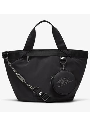 Сумка жіноча nike nsw futura luxe tote cw9303-010 чорний