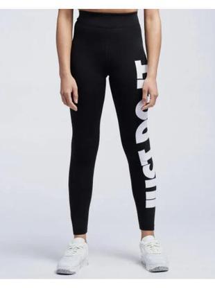 Легінси жіночі nike sportswear essential women's high-rise cz8534-010 чорний