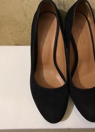 Туфли замшевые 36 размер 😍