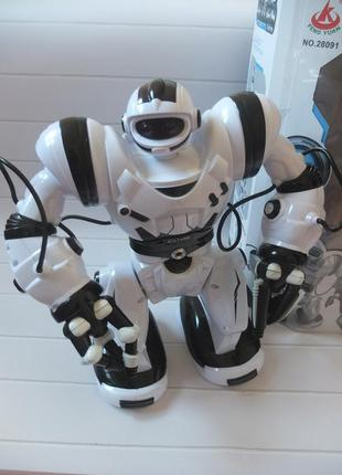 Робот calvin 28091 robot wisdom радиоуправляемый, 36 см