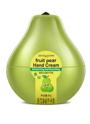 Крем для рук відновлюючий грушевий bioaqua fruit pear hand cream (30г)