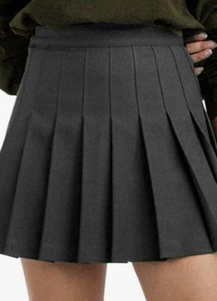 Юбка тениска черная