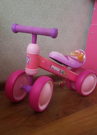 Велобег для самых маленьких