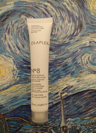 """Интенсивно увлажняющая маска """"восстановление структуры волос"""" olaplex №8 blond intense moisture"""