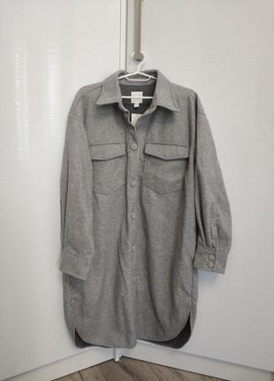 Рубашка-пальто из флиса