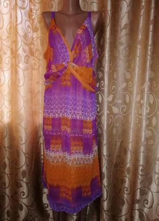 🌺👗🌺красивое легкое женское платье, сарафан батального размера marks & spencer🔥🔥🔥