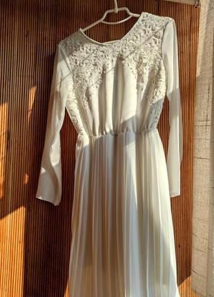 Белое платье для особого случая