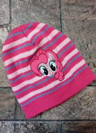 Подвійна в'язана шапочка hasbro з пінкі пай дівчинці 5-8 років