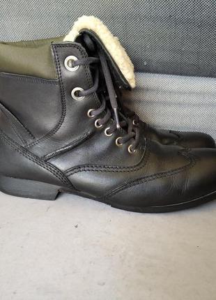 Демисезонные мужские ботинки black stone