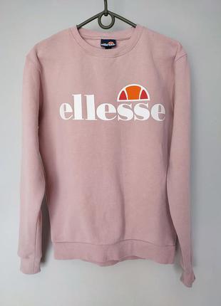 Жіноча кофта світшот ellesse приятный розовый цвет