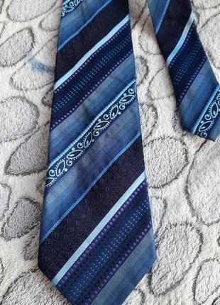 Шёлковый галстук kenzo