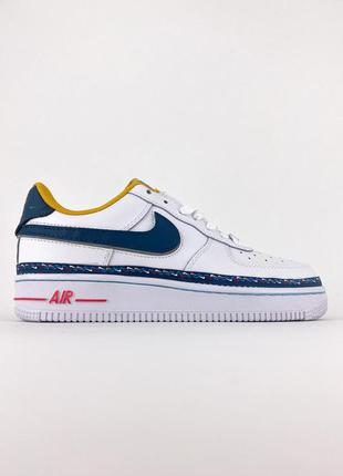 Кроссовки nike air force 1 swoosh chain pack white