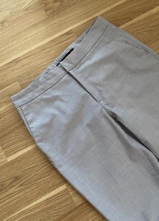 Серо-голубые брюки zara