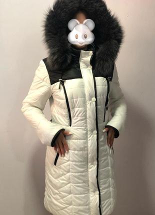 Женское пальто, пуховик