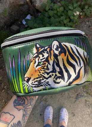Ручная роспись кастом сумка