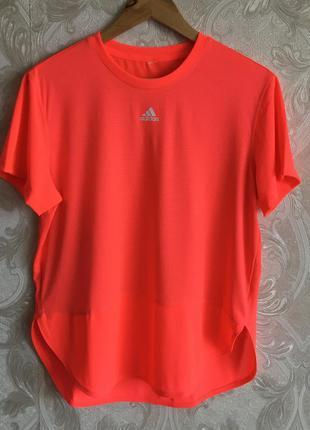 Розовая спортивная майка поло тенниска футболка adidas оригинал