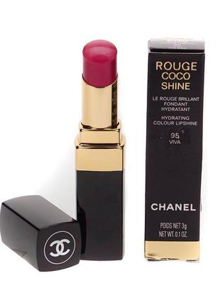 Помада chanel rouge coco shine 81 оригинал