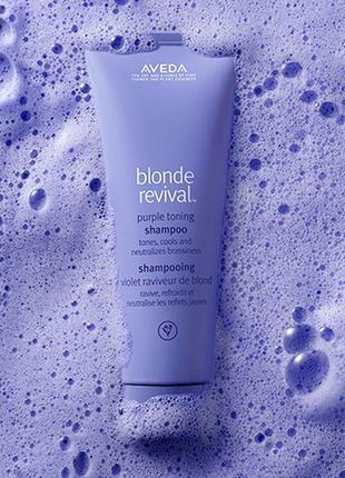 Шампунь aveda для блондинок, фиолетовый