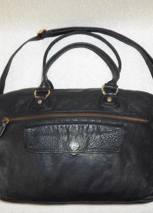 Большая сумка *beck sondergaard* натуральна шкіра