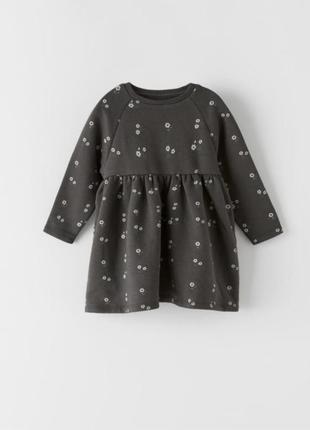 Очень класное и теплое платье zara