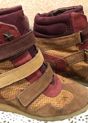Ботинки черевики хай топи