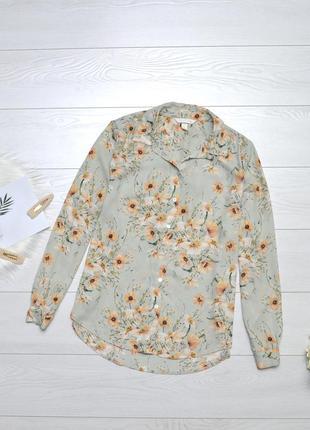 Ніжна блуза в квіти h&m.