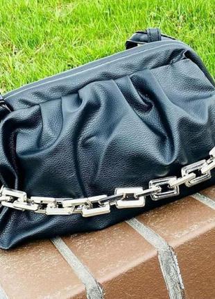 Шикарная сумка с цепью,хит, люкс качество, стамбул.