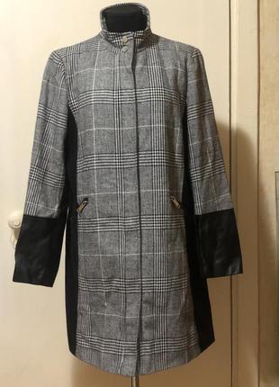 Приталенное пальто primark