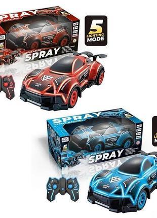 Гоночная машина с паром spray light racing 336-92