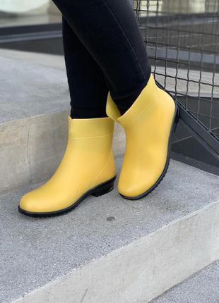 Гумові чоботи яскравого кольору