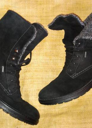 5.5-25.5 нубук ботинки зима legero goretex