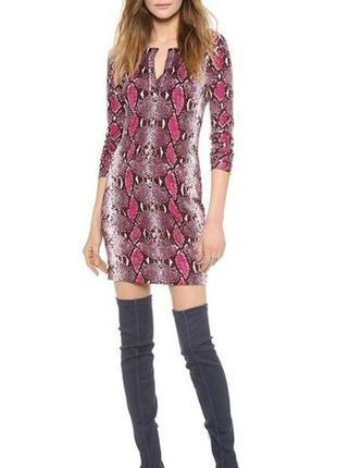 Базове плаття туніка diane von furstenberg платье питон змея шелк шовк принт dvf
