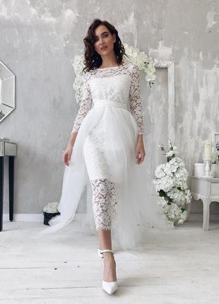 Фатиновая юбка накидка на платье