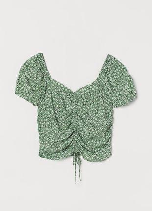 Очень нежная красивая блуза от h&m рр 12 наш 46