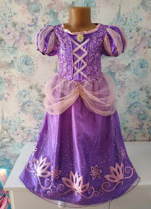 Платье рапунцель принцесса, карнавальный костюм