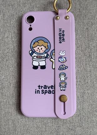 Чехол для телефона с ремешком, для iphone xr !!