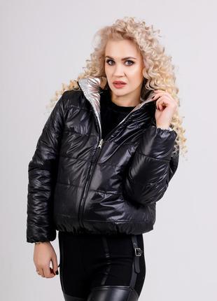 🍁двухсторонняя демисезонная куртка