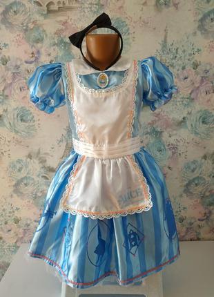 Платье  алисы в стране чудес, карнавальный костюм
