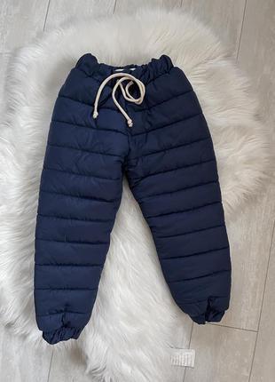 Теплые штаны