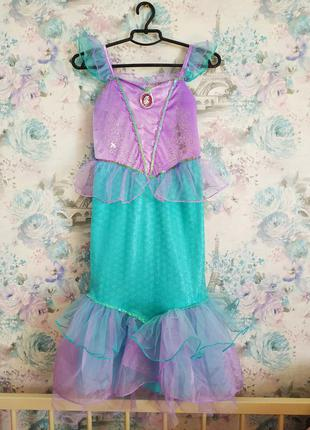 Карнавальный костюм русалочки, ариэль,платье ариэль,рыбка